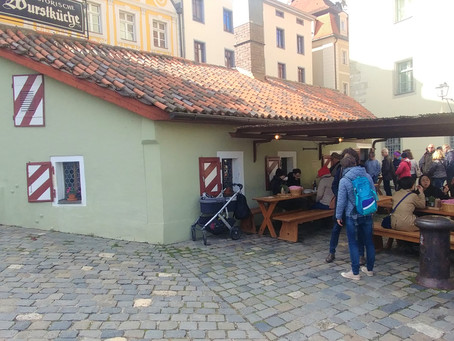 A 700 Year Old Sausage House