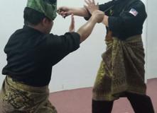 Latihan kelas Silat Melayu Keris Lok 9 di Setapak