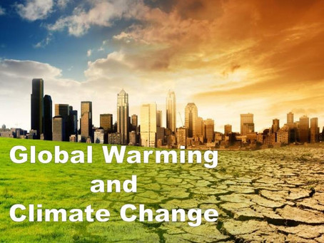 Global Warm(n)ing and Climate Change