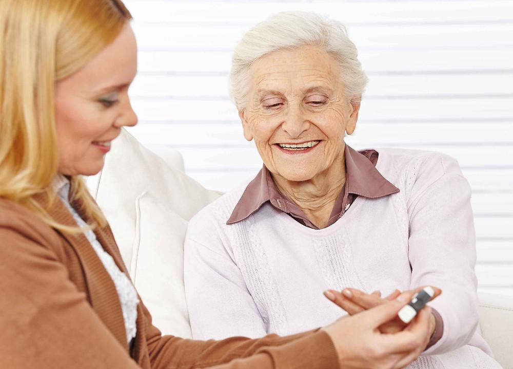 Senior Women with Diabetes