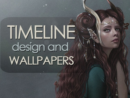 TIMELINE design and WALLPAPERS