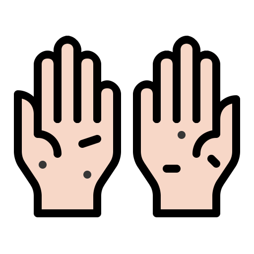 4443508 - bacteria dirty disease hand hygiene infect