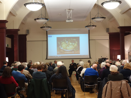 Great turnout at St. Hugh's College, Oxford, a TOIA event, in conversation with Samuel Fanous
