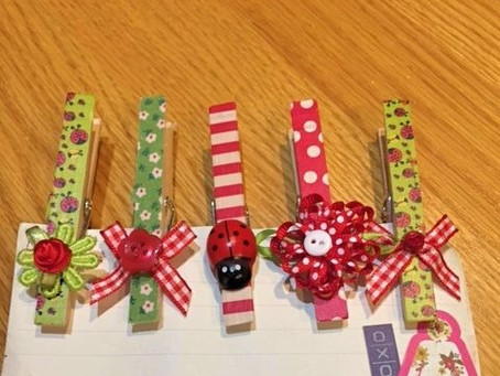 DIY: Turn Clothespins Into Cute Clips