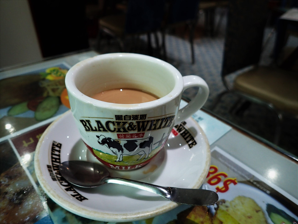 Milk Tea, Mido Cafe, Yau Ma Tei, Hong Kong