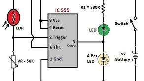 L27, Automatics Street Light Using 555