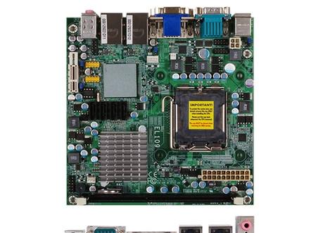 DFI EL109-N (775/DDR3/RGB/DVI/RS232*4) DFI EL109-N