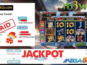 Mystic Dragon slot game tips to win RM4200 in Mega888