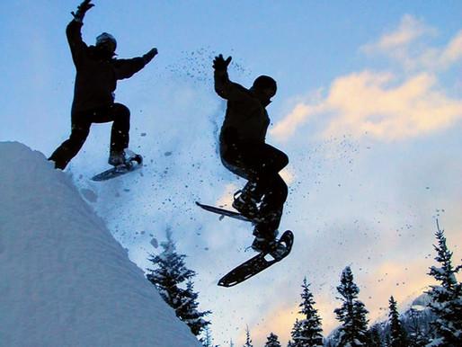 Snowshoe...cross country ski...skate ski...so many choices!