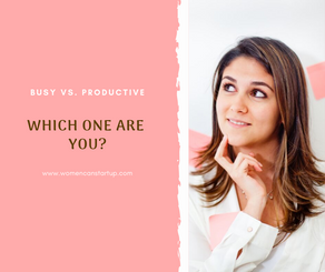 Are you being productive or just busy?