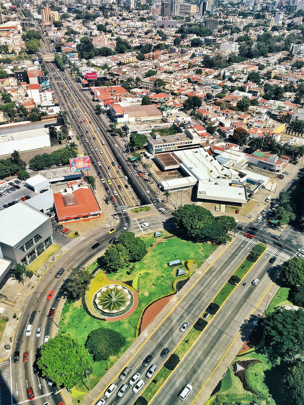 view from Riu Plaza Guadalajara