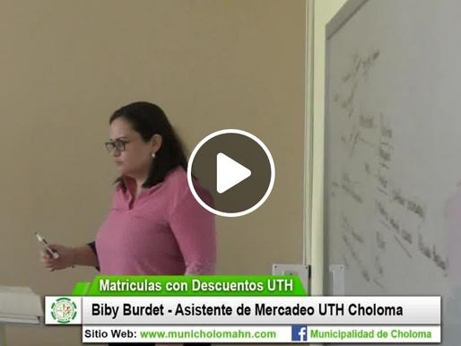 Descuentos en Matrículas - UTH Choloma.