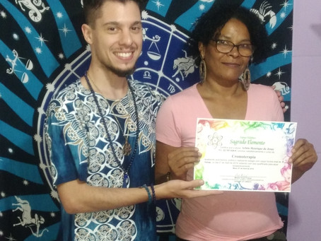 Certificação do Curso de Cromoterapia em Mauá