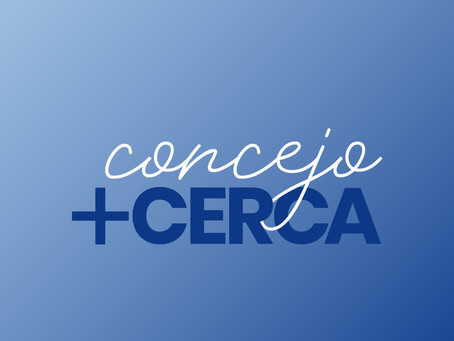 CONCEJO + CERCA