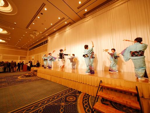 浅間神社敬神婦人会の踊り