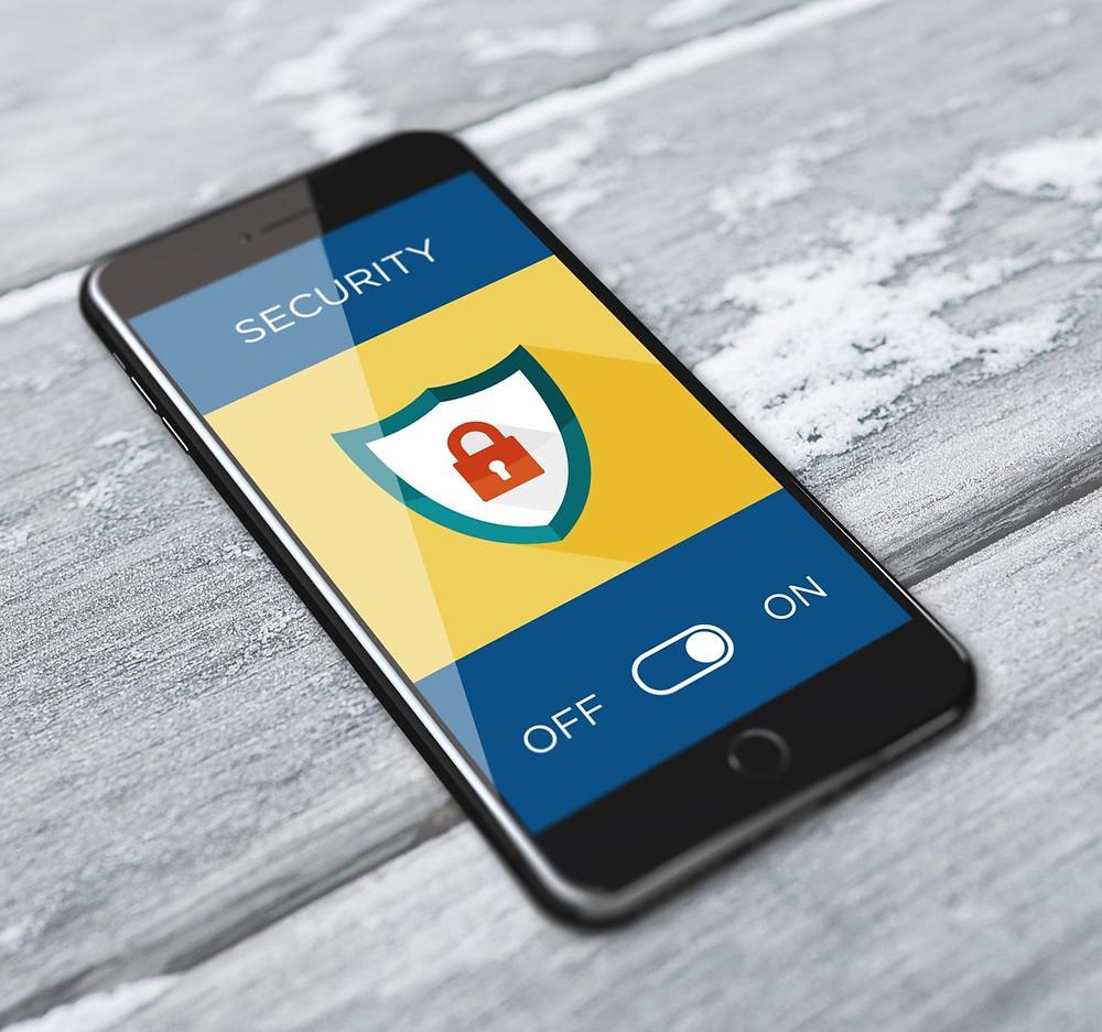 sicurezza privacy cellulare smartphone app