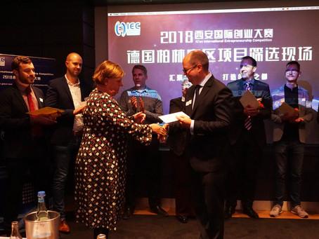 Elastrin wins Entrepreuner award!