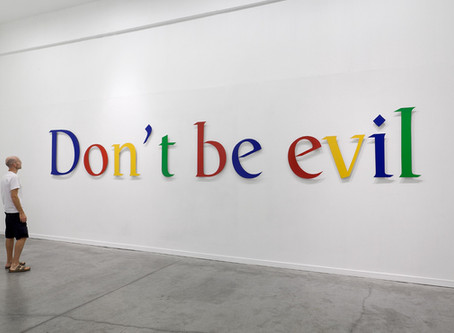 Has Google ever been evil and is your SEO doing the right thing?