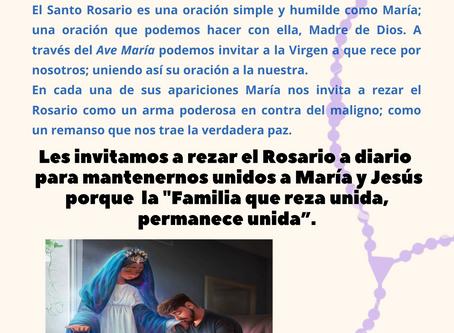 Reflexión para comenzar el mes de octubre, Mes del Rosario