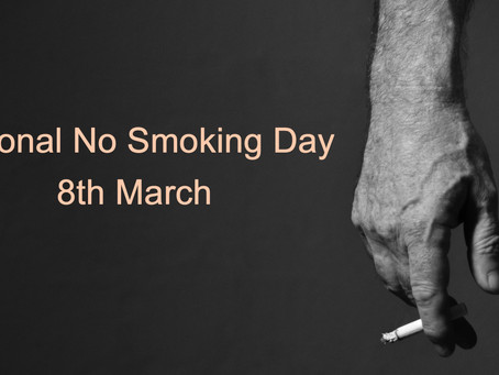 National No Smoking Day 8th March