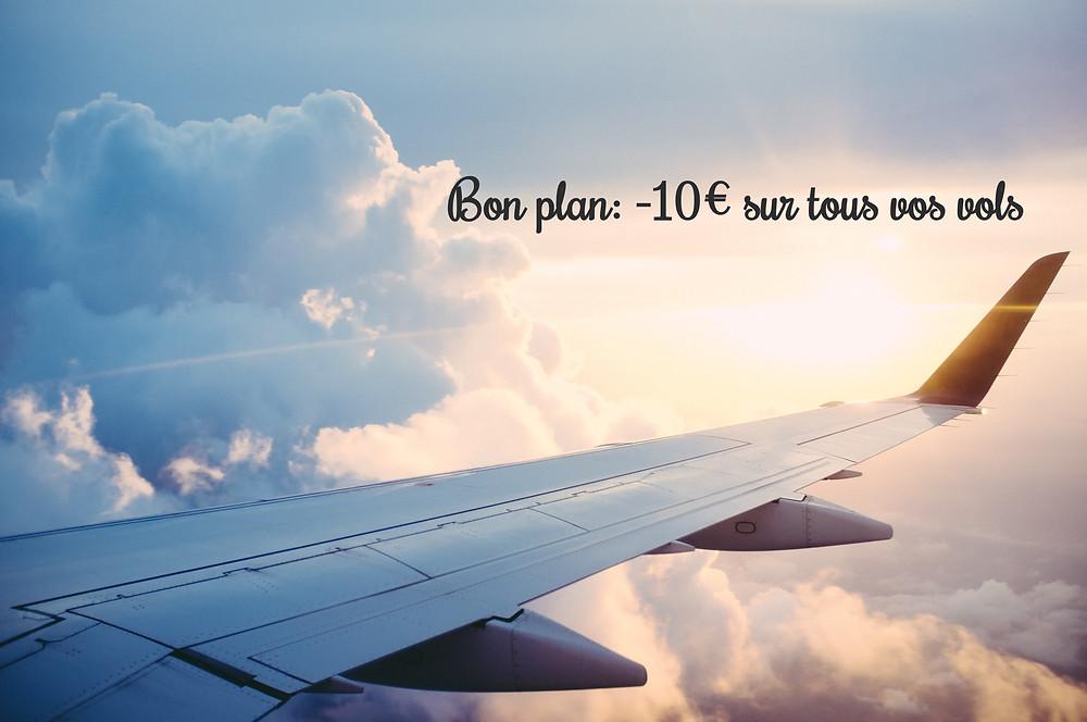 code de réduction promo vol voyage ulysse 10€
