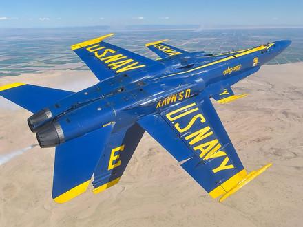 Blue Angels receive their first Super Hornet