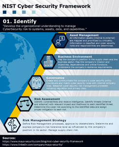 NIST Cyber Security Framework - 1. Identify