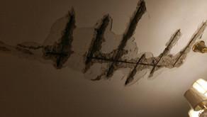 西區奧園社區多戶住宅天花板開裂脫落 鋼筋外露鏽跡斑斑