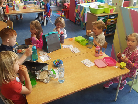Junior Infants Had a Great First Day!