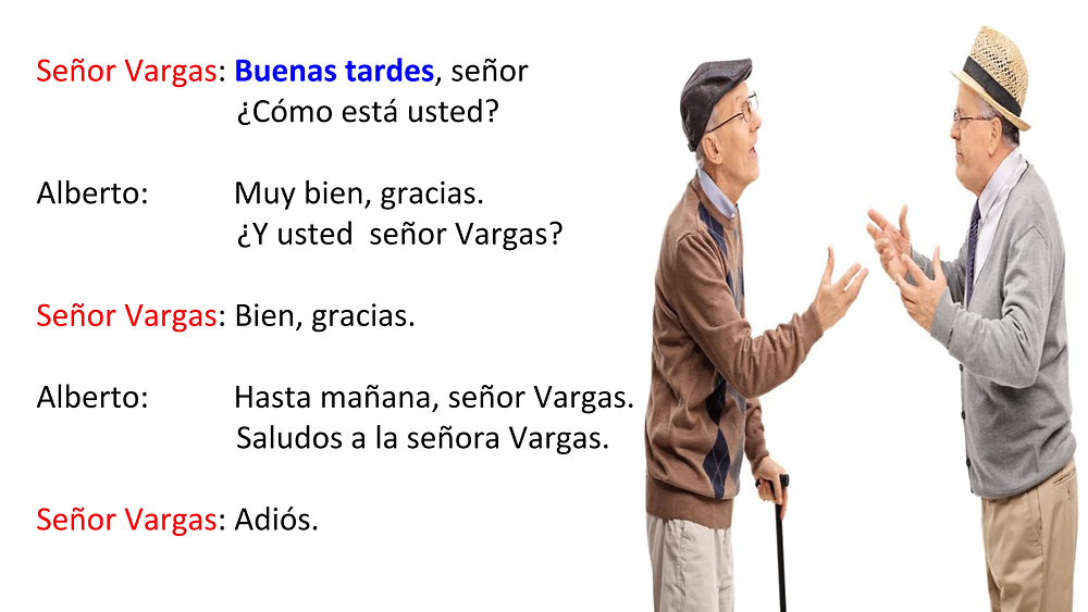 Being polite in Spanish