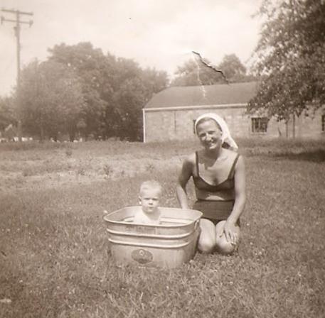 Pictured: Grandma Carolyn Hawthorne, Detroit 1949