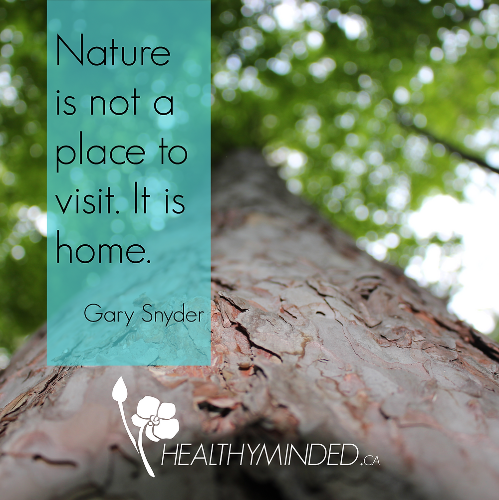 Nature is not a place to visit. It is home. - Gary Snyder