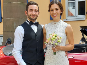Eva und Ibi haben am 03 .07.2020 in Niedernberg geheiratet