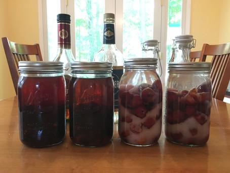 DIY Fruit Nalewki (Aged Polish Fruit Infused Liqueurs)