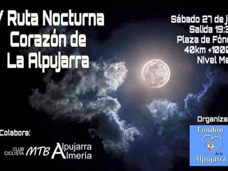V Ruta Nocturna 'Corazón de la Alpujarra'