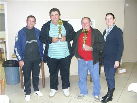 Centro de Reservistas premia os vencedores da canastra