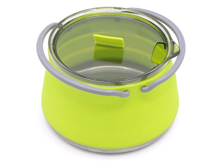 Portable & Collapsible Pot For Travel