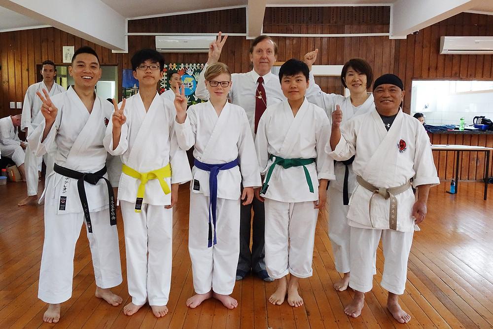 JKA Massey Karatekas