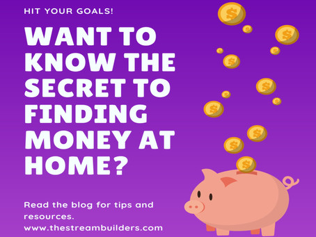 Want To Know The Secret To Finding Money At Home?