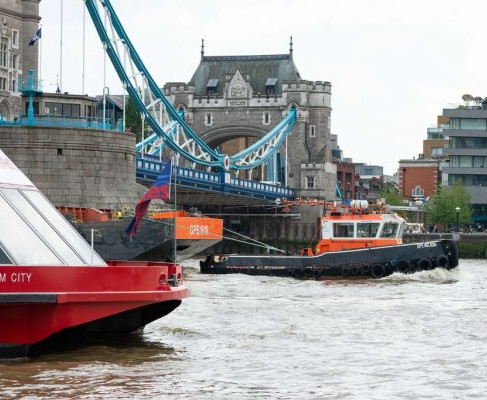 £500,000 BOOST FOR GREENER VESSELS ON TIDAL THAMES
