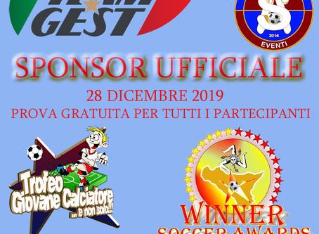 Nuovo progetto per Group-Gest: Sponsor Ufficiale all'evento più importante di fine anno in Sicilia