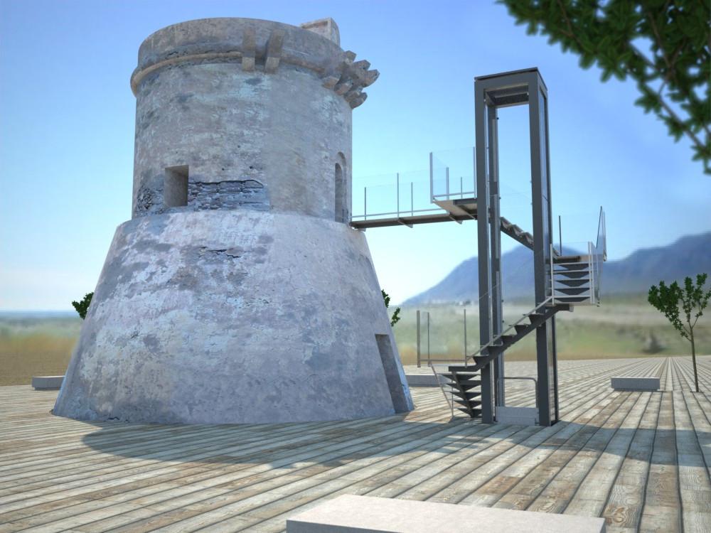 Torre de San Miguel de Cabo de Gata. Propuesta de Rehabilitación.