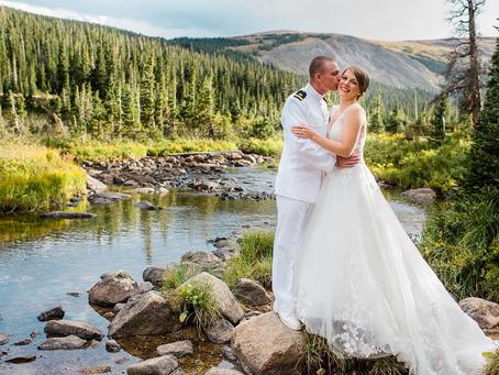 Ashley + Hayden's Scenic Wedding in Colorado!