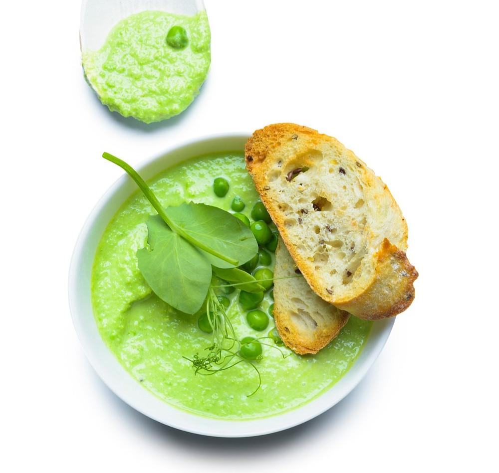 trinta brokolių ir žirnelių sriuba, receptai, Alfas Ivanauskas