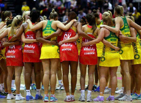 Big weekend of netball will decide Quad Series winners at Copperbox Arena