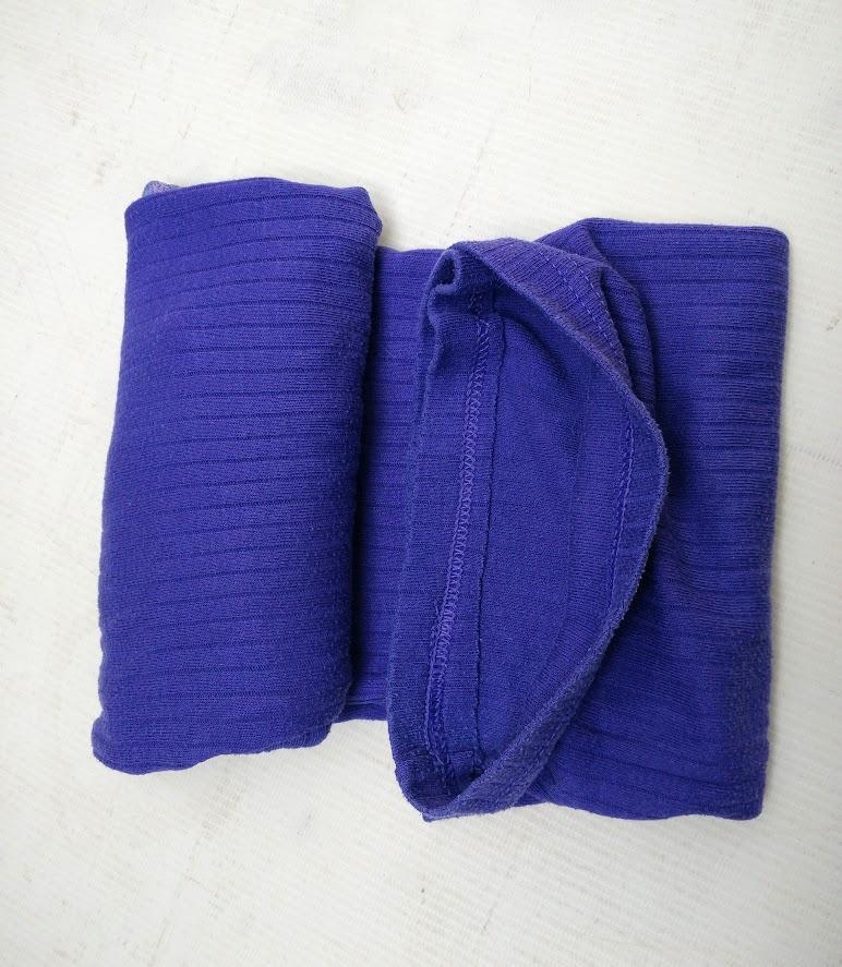 Into bottom fold