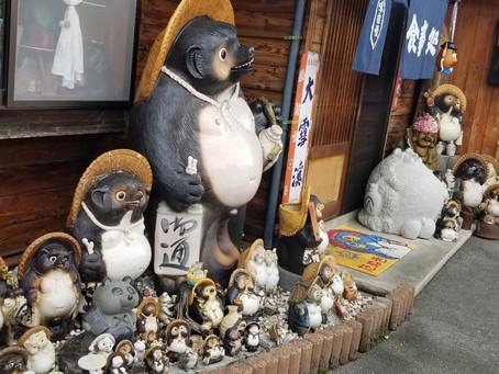 松川村 【たぬき】