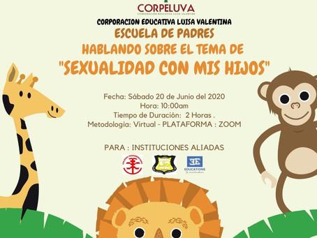 Escuela de padres #4 HABLANDO SOBRE EL TEMA DE SEXUALIDAD CON MIS HIJOS