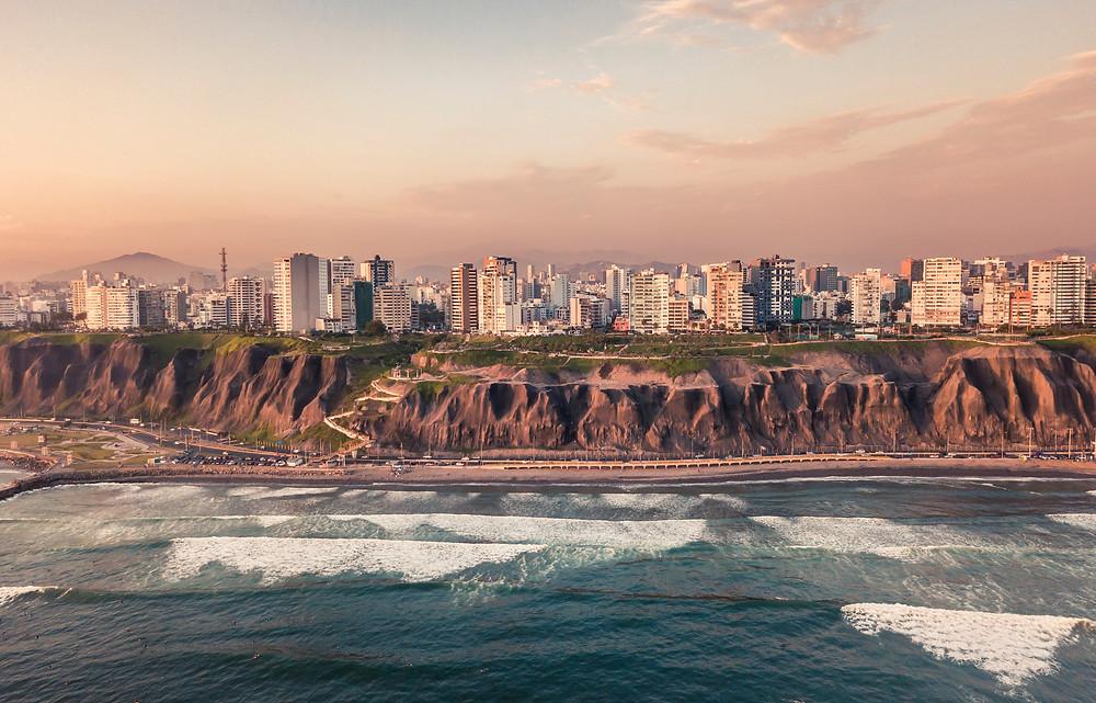 Shores of Lima, Peru