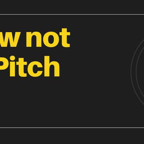 pitch not push